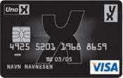 YX Visa kredittkort